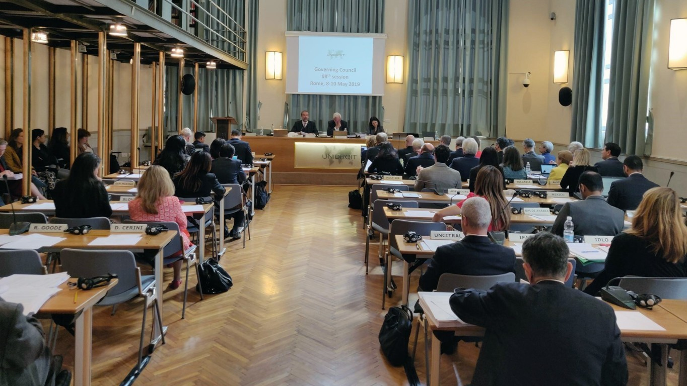 98TH  SESSION OF UNIDROIT GOVERNING COUNCIL