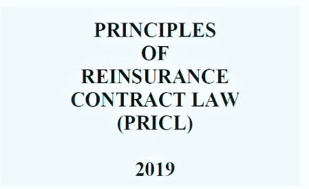 PRINCIPLES OF REINSURANCE CONTRACT LAW AVAILABLE ONLINE