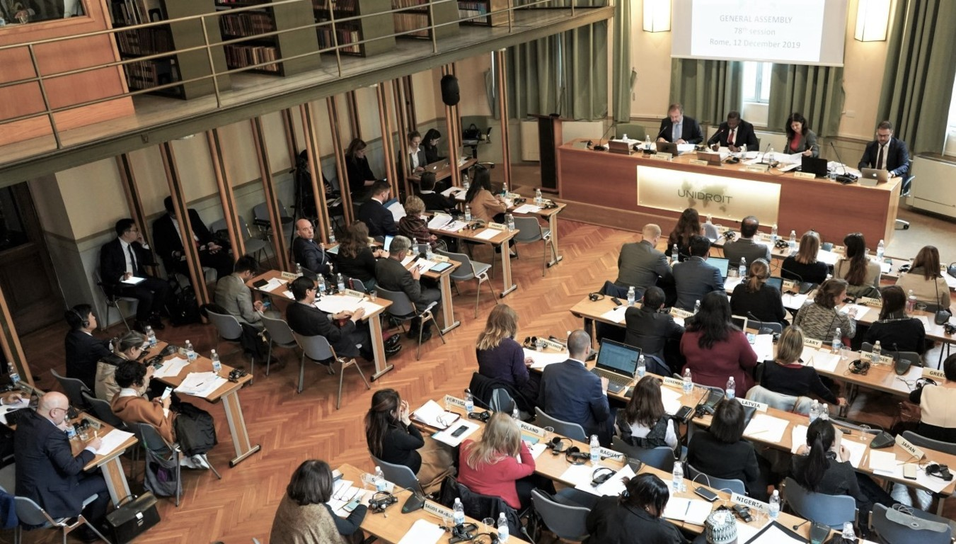 78th session of the Unidroit General Assembly